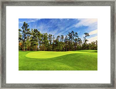 No. 14 Chinese Fir 440 Yards Par 4 Framed Print
