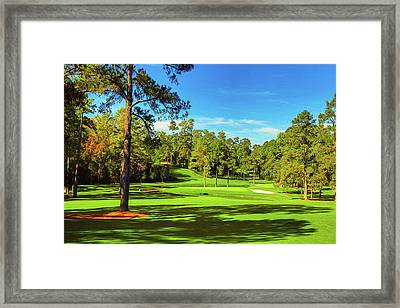 No. 15   Fire Thorn 530 Yards Par 5 Framed Print