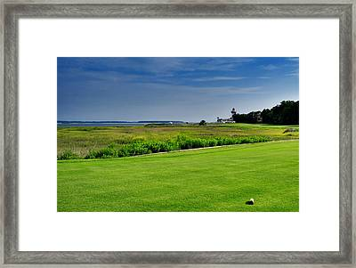 No. 18 At Harbour Town Golf Links Framed Print by Lyle  Huisken