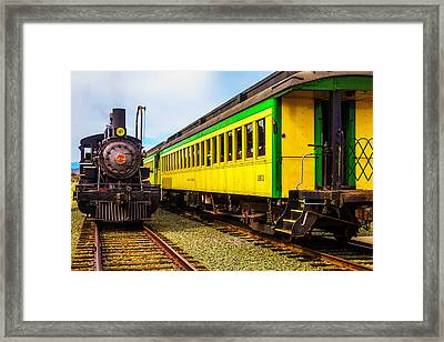 No 29 And Passengar Cars Framed Print