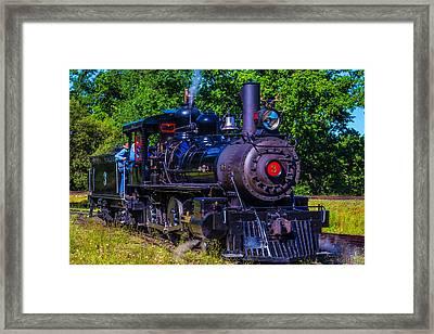 No 3 Jamestown Steam Train Framed Print by Garry Gay