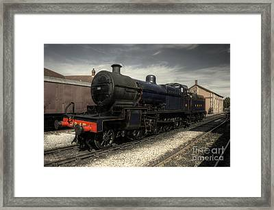 No 88 At Minehead Framed Print