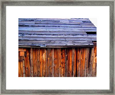 Framed Print featuring the photograph No Better Days Ahead by Don Struke