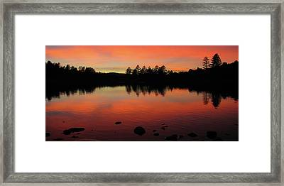 No Boundaries Framed Print