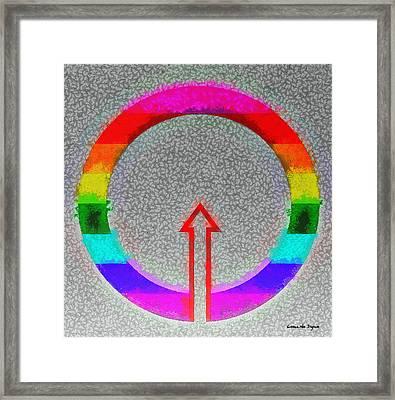 No Choice - Pa Framed Print