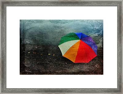 No Day For A Tan Framed Print