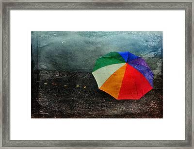 No Day For A Tan Framed Print by Randi Grace Nilsberg