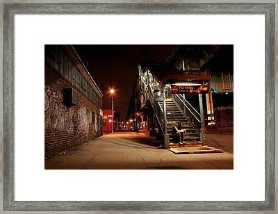 No Entry Framed Print by Jason Hochman
