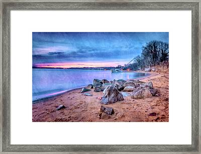 Framed Print featuring the photograph No Escape by Edward Kreis
