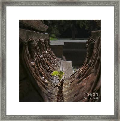 No Excuses Framed Print