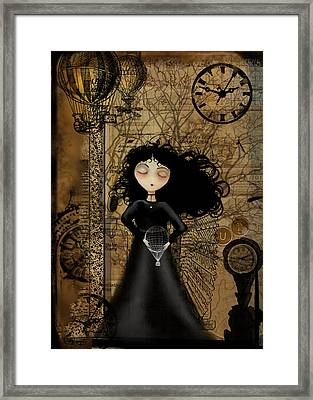 No Fear Of Flying Framed Print by Charlene Zatloukal