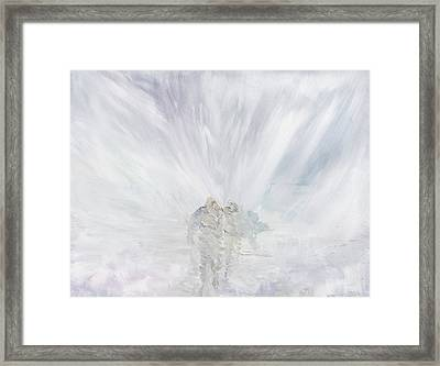 No Further Framed Print by Vincent Alexander Booth