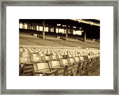 No Games Left To See Framed Print