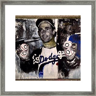 No-hitter Framed Print by Ric'Diculous' artist