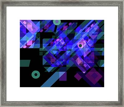 No Illusions Framed Print by Lynda Lehmann