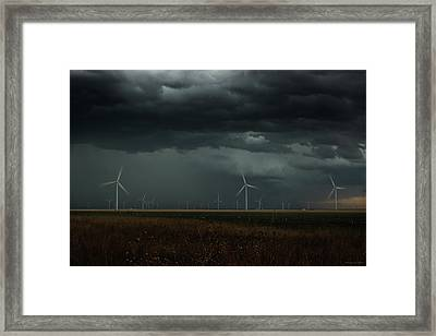 No Lack Of Energy Framed Print by Brian Gustafson
