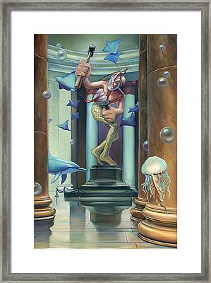 No Limit Framed Print by Patrick Anthony Pierson
