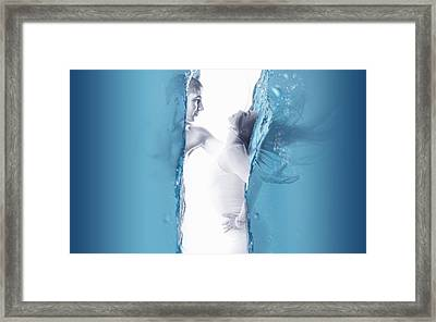 No Limits To Love Framed Print
