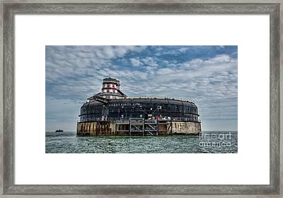 No Mans Fort Framed Print