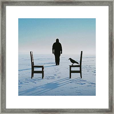 No Man's Land Framed Print by Art of Invi