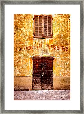 Framed Print featuring the photograph No More Bread by Olivier Le Queinec