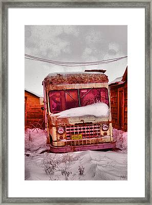 Framed Print featuring the photograph No More Deliveries by Jeff Swan