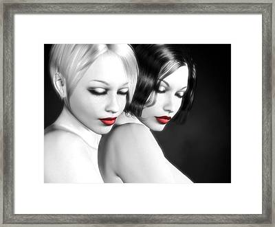No More Secrets Framed Print