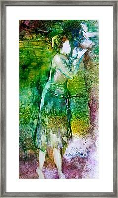 No More Shackles Framed Print by Deborah Nell