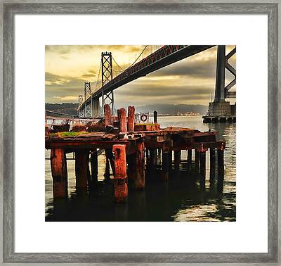 No Name Dock Framed Print