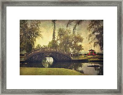 No Need To Worry Now Framed Print