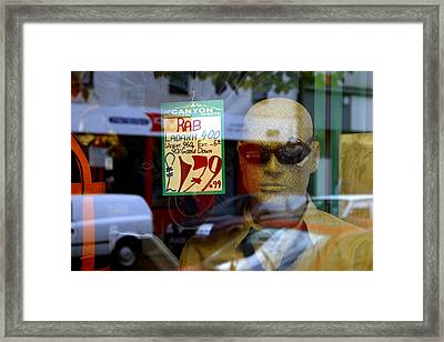 No One Around Framed Print by Jez C Self