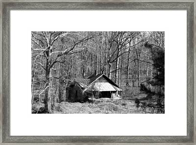 No One Home Framed Print by Pat Turner