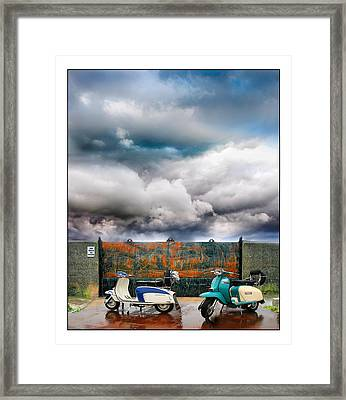 No Parking Framed Print by Mal Bray