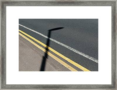 No Parking Framed Print