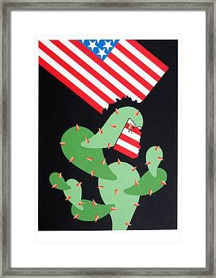 No Pasaran Framed Print by Julio Eloy Mesa