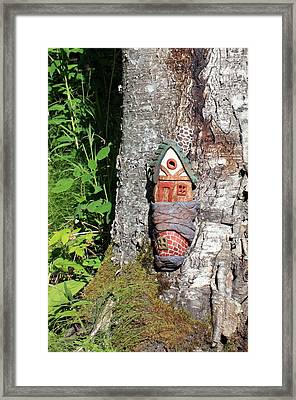 No Place Like Gnome Home I Framed Print by Eric Knowlton