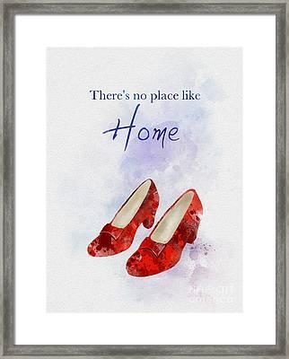 No Place Like Home Framed Print