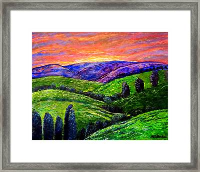 No Place Like The Hills Of Tennessee Framed Print