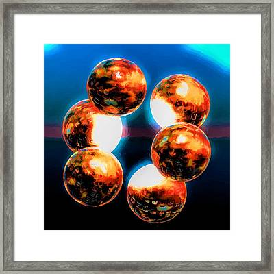 No Planet B Framed Print by Jim Buchanan