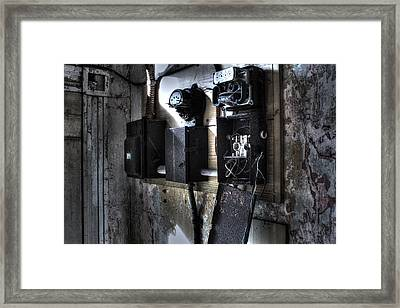 No Power Framed Print by Andrew Pacheco