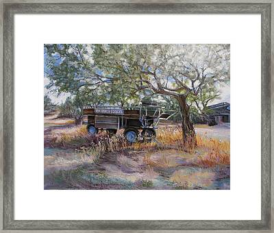 No Rides Today Framed Print by Carole Haslock