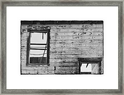 No Roof Framed Print by Ana V Ramirez