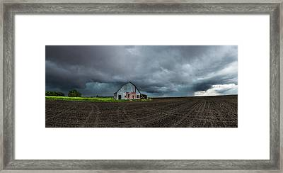 No Shelter Here Framed Print by Aaron J Groen