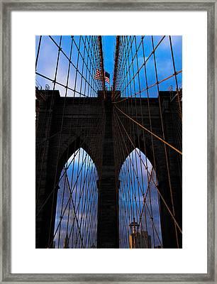 No Sleep Til Brooklyn Framed Print by John McGarity