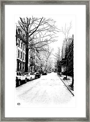 No Sleep Til... Framed Print by Robin DaSilva