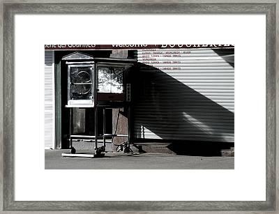 No Spuds Framed Print by Jez C Self