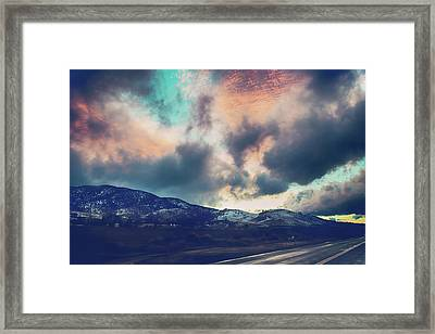 No Stopping Us Now Framed Print by Laurie Search