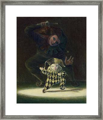 No Strings Attached Framed Print by Leonard Filgate