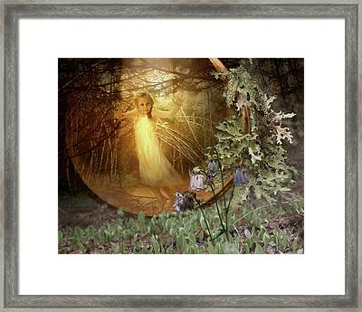 No Such Thing As Elves Framed Print