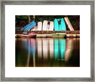 Framed Print featuring the photograph No Takers by Alan Raasch